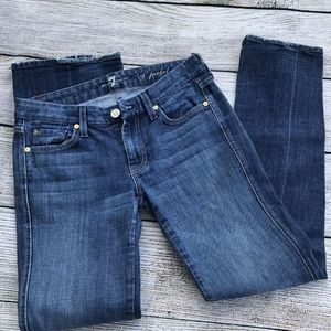 7 For all mankind jeans size 27 A Pocket